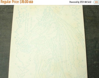 ON SALE vintage 1962 unused horse paint by number, palmer-pane corp from toledo, ohio