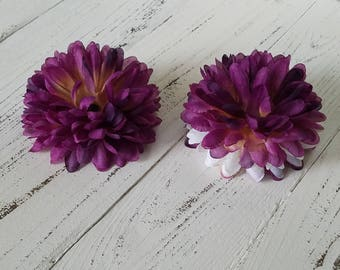 Flower Hair Clips - Set of 2