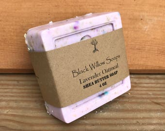 Lavender Oatmeal Soap, Handmade Soap, Natural Soap, Soap, Homemade Soap, Bar Soap, All Natural Soap, Lavender Soap, Relaxation Soap