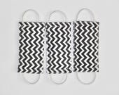 Latchy Catchy in Charcoal Chevron (Patented)