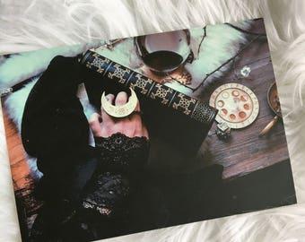 Nyxturna Rituals I Luxe Postcard Print