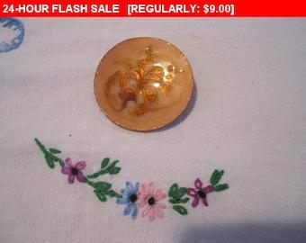 vintage enamel brooch, vintage pin brooch, estate jewelry