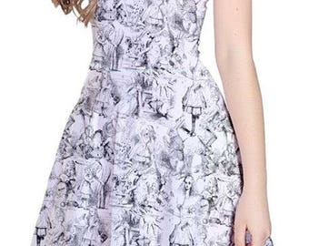 READY-to-SHIP Alice in Wonderland Dress (LARGE)