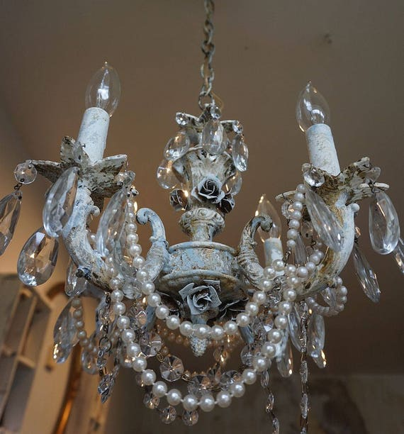 like this item - Shabby Chic Chandelier
