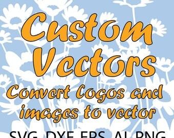 Vector Logo Conversion, Custom Vector File