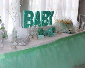 Custom Tutu Table Skirt, Candy Buffet, Centerpiece, Head Table