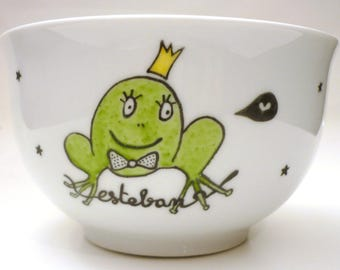 Customizable... NET Queen frog Bowl