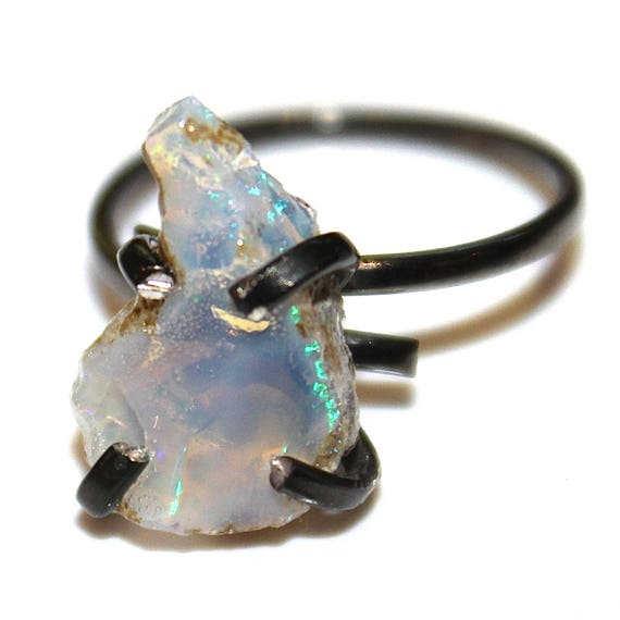 Large Jelly Opal Ring