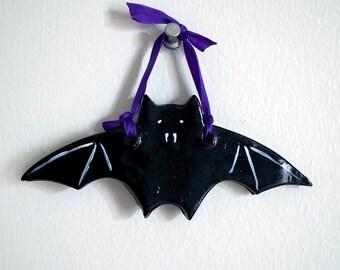 Bat Halloween Ornament