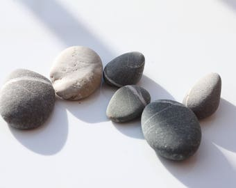 Scottish beach pebbles, wishing stones, home decor, aquarium embellishment,sea glass ,rocks stones, beach pebble (118)