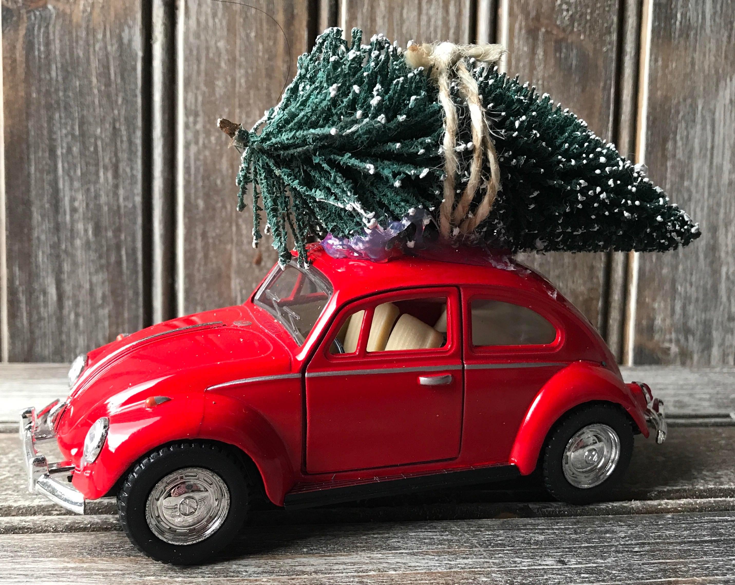 diecast vw bug  christmas tree christmas tree vw beetle
