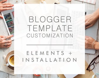 Blogger Template Customization
