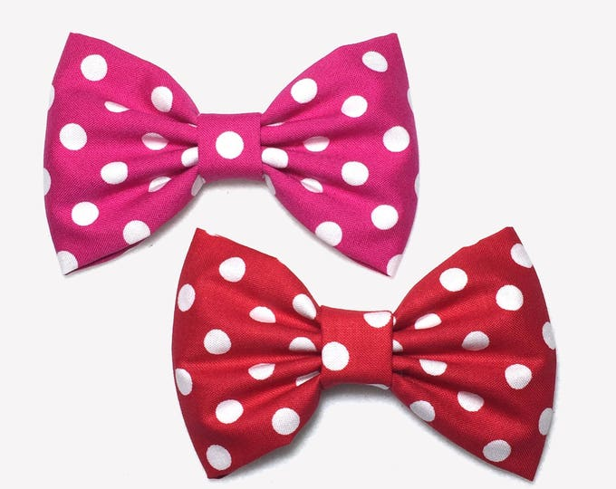 Featured listing image: Polka Dot Hair Bow