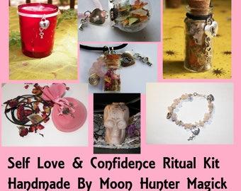 Self Love Self Esteem Combo Kit Confidence Ritual Altar Kit