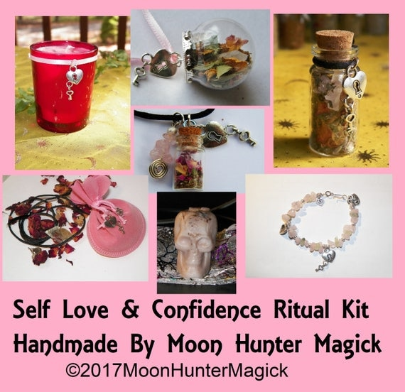 Self Love Self Esteem Combo Kit Confidence Ritual Altar Kit