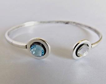 swarovski bracelet, crystal bracelet, swarovski crystal, gift for her, bridal bracelet, swarovski jewelry, bridesmaid bracelet, K6043