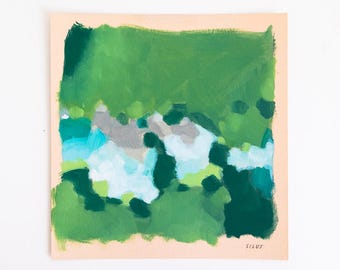 Original Abstract Landscape Painting