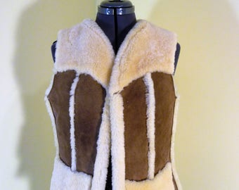 Sheepskin Vest Ladies  Designed By Lorna Uibet For Caribou Clothes