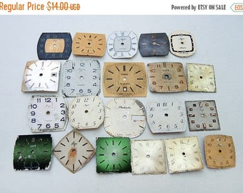 ON SALE Small Watch Faces - set of 21 - c41