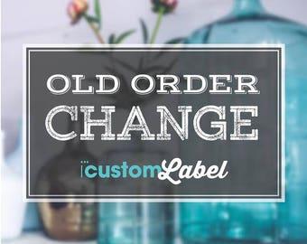 25 reprint change water