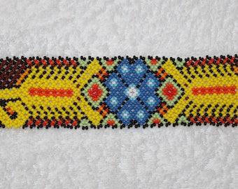Huichol Beaded Scorpion Bracelet PP