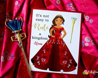 Elena of avalor Inspired Sign - Instant Download