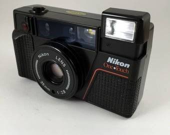 Nikon One Touch 35mm camera, film tested, working