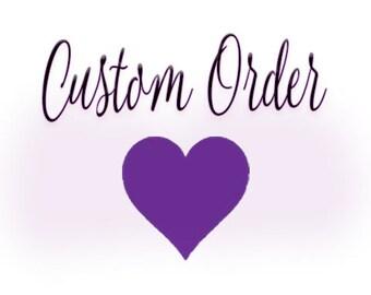 Custom veil for Kimberly