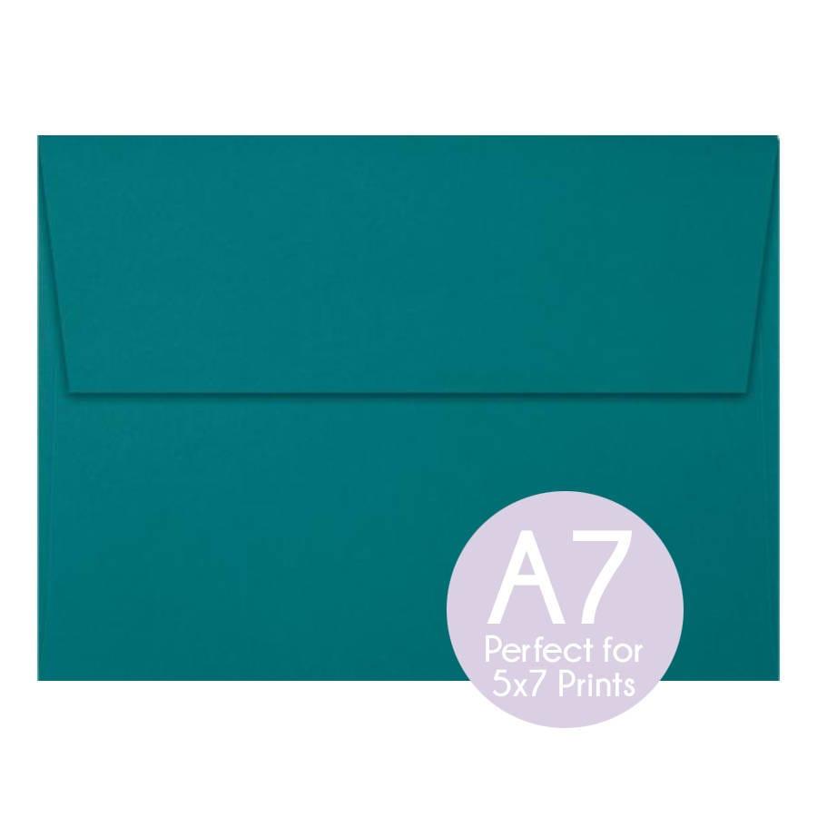 teal blue green a7 5x7 envelopes 5x7 invitation envelopes