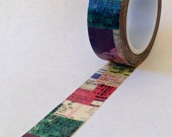 "Washi Tape "" Collage""   10 meters"