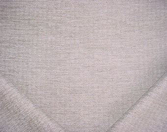 8-3/8 yards Robert Allen / Beacon Hill 218484 Enoki in Silver - Crushed Chenille Drapery Upholstery Fabric - Below Wholesale - Free Shipping