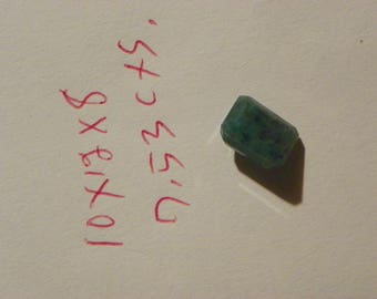 Emerald 10x12x8 MM. Octagon 7.53 Carats Faceted