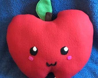 Cute Apple Fruit Food Plushie / Plush Toy Pillow