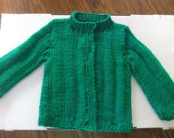 Kelly Green Sweater Size 9 Months