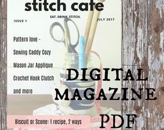 Stitch Cafe Issue 1 July 2017 - digital craft magazine PDF