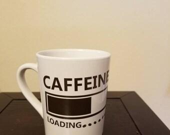 Coffee loading mug