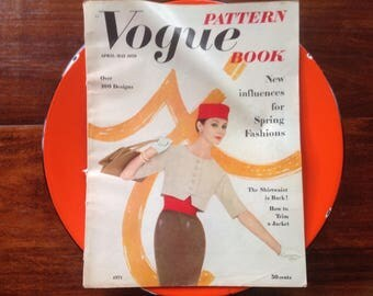 Vogue Pattern Book, April May 1959, Lynda Harper, Bellaire, Texas, Teenager, Featured, prom dress, fashion, style, Indian Head, Cotton Ad