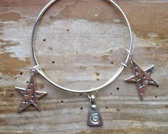 Celestial Goddess Bracelet, goddess bracelet, celestial bracelet, adjustable bracelet, pagan bracelet