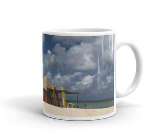 Beachside Ceramic Coffee Mug