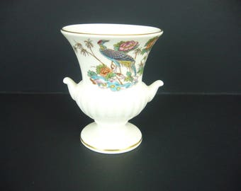 WEDGWOOD Mini Bud Vase - Kutani Crane Fine China Vase - Discontinued Pattern - Replacement China