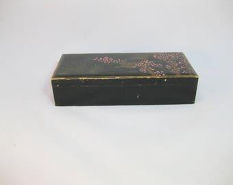 Lacquer Box, Asian Lacquer Box Japan