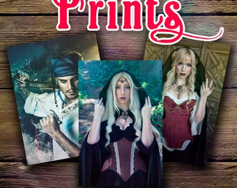 Prints - Fantasy and Cosplay pics of Aeriën & Mike Valo  - 15x20 cm