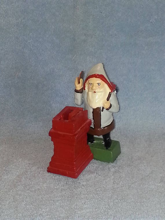 Mechanical Bank Cast Iron Santa Claus
