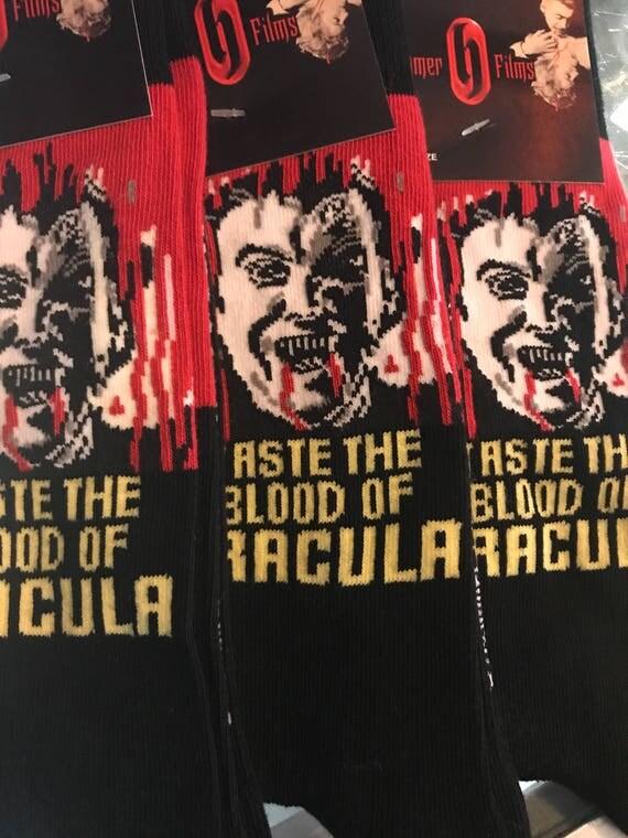 Taste the Blood of Dracula Socks