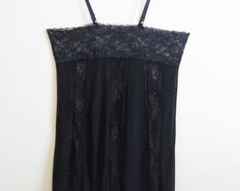 Black Lace Slip 44 - Plus Size Vixen