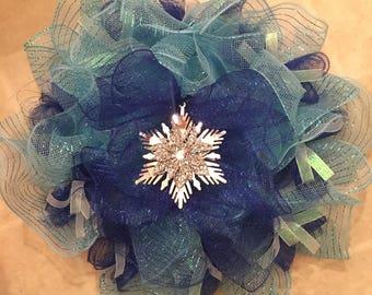 FROZEN Inspired Deco Wreath
