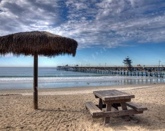 San Clemente in the Winter - 8x12 Original Photo