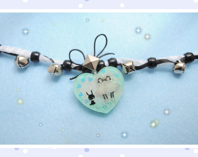 Kawaii Twin Lolitas Choker