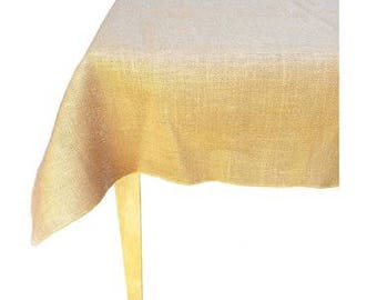 60 X 60 Burlap | Overylay | Tablecloth | Square