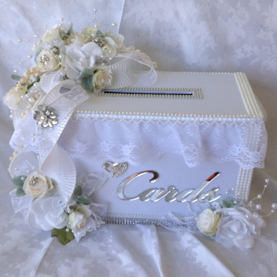 wedding card box white wedding card box secure card box